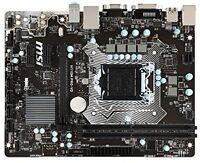 Msi Intel Skylake H110 Lga 1151 Ddr4 Usb 3.1 Micro Atx Motherboard (h110m
