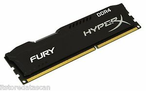 8GB-Kingston-HyperX-Fury-DDR4-2133-Mhz-Desktop-Pc-Ram-BILL