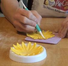 6Pcs Flower Fondant Forming Cups Dry Gumpaste Icing Cake Decorating Baking Tools