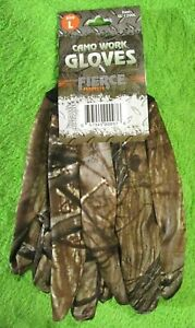 Men/'s Size L Camo Hunting Gloves Lot of 2 Pairs