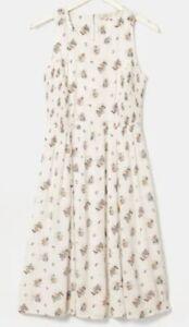 Fatface Karen Check Ditsy Dress, Size 16,BNWT