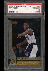 1996-Bowman-039-s-Best-Rookie-Ray-Allen-ROOKIE-RC-R5-PSA-10-GEM-MINT