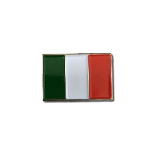 Italy Italian Flag Quality Metal /& Enamel Pin Badge with Secure Locking Back