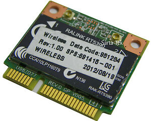New-OEM-HP-691415-001-RT5390-bgn-PCIe-Half-Wireless-U98Z077-03