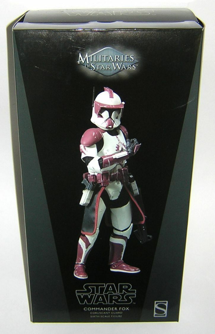 Star Wars Sideshow Collectables 1:6 12 inch Scale Commander Fox MIB