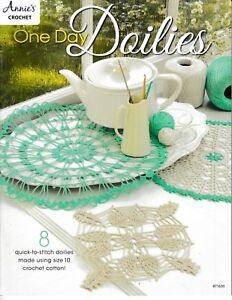 One-Day-Doilies-Annie-039-s-871630-Crochet-NEW