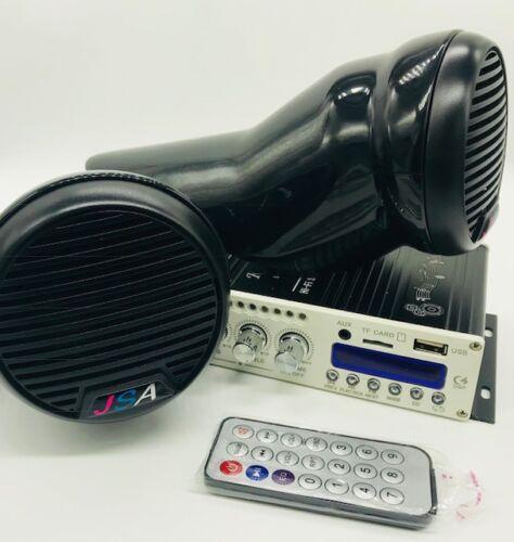 Yamaha FZR FZS EX JETSKI 2 SPEAKER POD STEREO AMP BLUETOOTH UNIVERSAL FIT