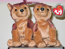 a0e75a9441d70 item 3 Ty Beanie Babies Set of 2 ~ COURAGE 9-11 Dogs (Left   Right Flag  Arms) ~ MINT -Ty Beanie Babies Set of 2 ~ COURAGE 9-11 Dogs (Left   Right  Flag Arms) ...
