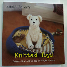 KNITTED TOYS Sandra Polley 16 KNITTING PATTERNS MEERKATS Dog Dolls Teddies Bears