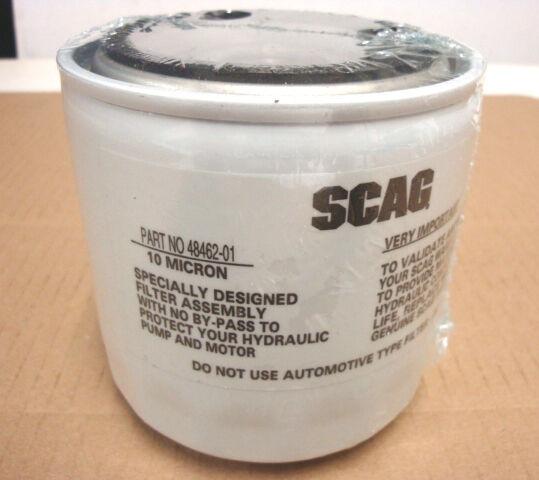 Sca 48462 01 48471 Scag Hydraulic Transmission Filter 4846201 Ebay