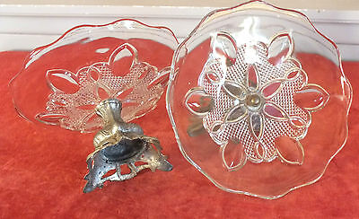 2 Kelche Klettert Glas Und Metall Jugendstil Buy One Give One