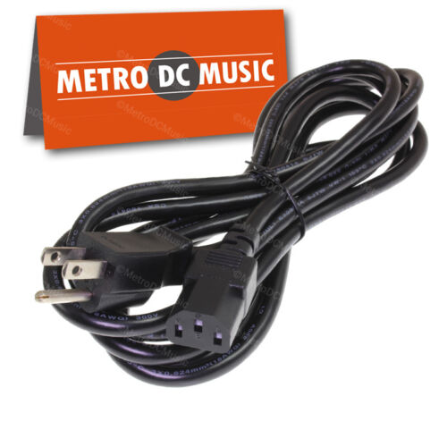 10ft AC Power Cord for DMX Lighting Outdoor Rated SJTW 18//3 AWG 10 Amp 3 Pin