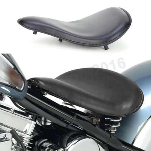 Soft Leather Classic Solo Seat For 1988-2008 Honda Shadow VLX 600 VT600C Bobber