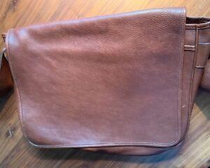 e72d6b096d Image is loading Frank-Clegg-Leather-Works-Messenger-Bag