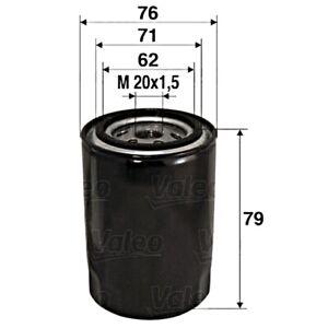 VALEO Oil Filter For FIAT ALFA ROMEO LANCIA Barchetta Brava Bravo I Mpv 7715489