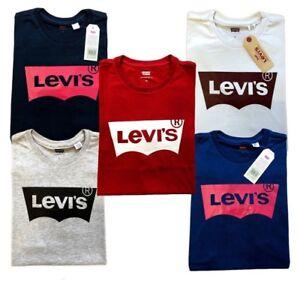 Men-039-s-Levi-039-s-graphic-solid-logo-T-shirts-Size-S-M-L-XL-XXL