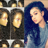 100% Indian Remy Human Hair Lace Front Wig Body Wave With Baby Hair Natural Soft