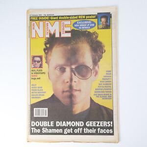 NME magazine 27 February 1993 The SHAMEN cover Bono Nirvana David Bowie