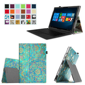 For-Microsoft-Surface-Pro-3-12-inch-Tablet-Folio-Leather-Stand-Case-Slim-Cover