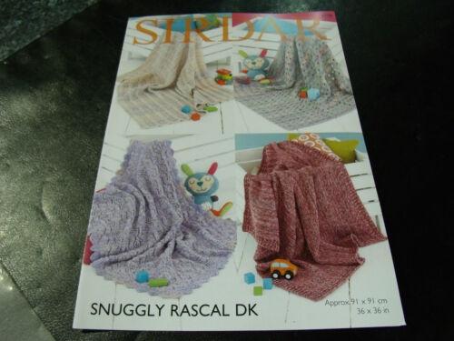 Sirdar Snuggly Rascal Double Knitting Pattern 4770 Blankets Ebay