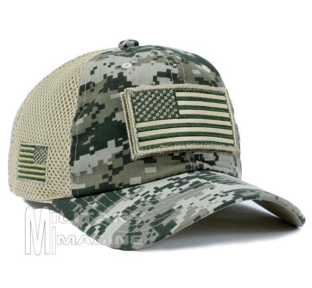 Frequently bought together. USA American Flag Hat ACU Digital Camo ... efd5838818e