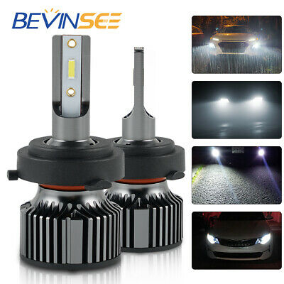 Bevinsee For Kia Forte 2017 2019 H7 Led Headlight Bulb Low Beam