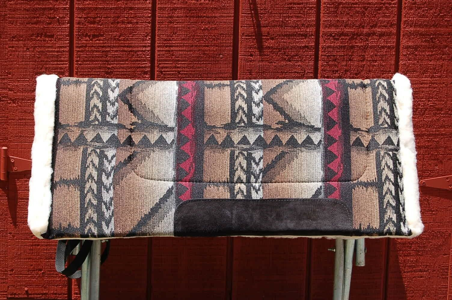 RIDERS CHOICE SADDLE PAD  MOHAWK BIRCH FREE SHIP BLANKET NEW 32  MADE IN ALABAMA  brand outlet