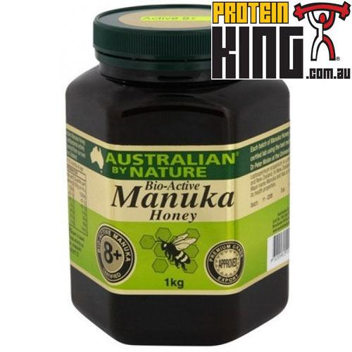 AUSTRALIAN BY NATURE 1KG BIO-ACTIVE BIO-ACTIVE BIO-ACTIVE 8+ MANUKA HONEY antibacterial abn comvita 18bcc8