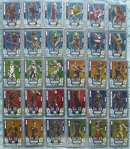 Star-Wars-Force-Attax-Clone-Wars-Series-4-Force-Master-Card-Selection-225-240
