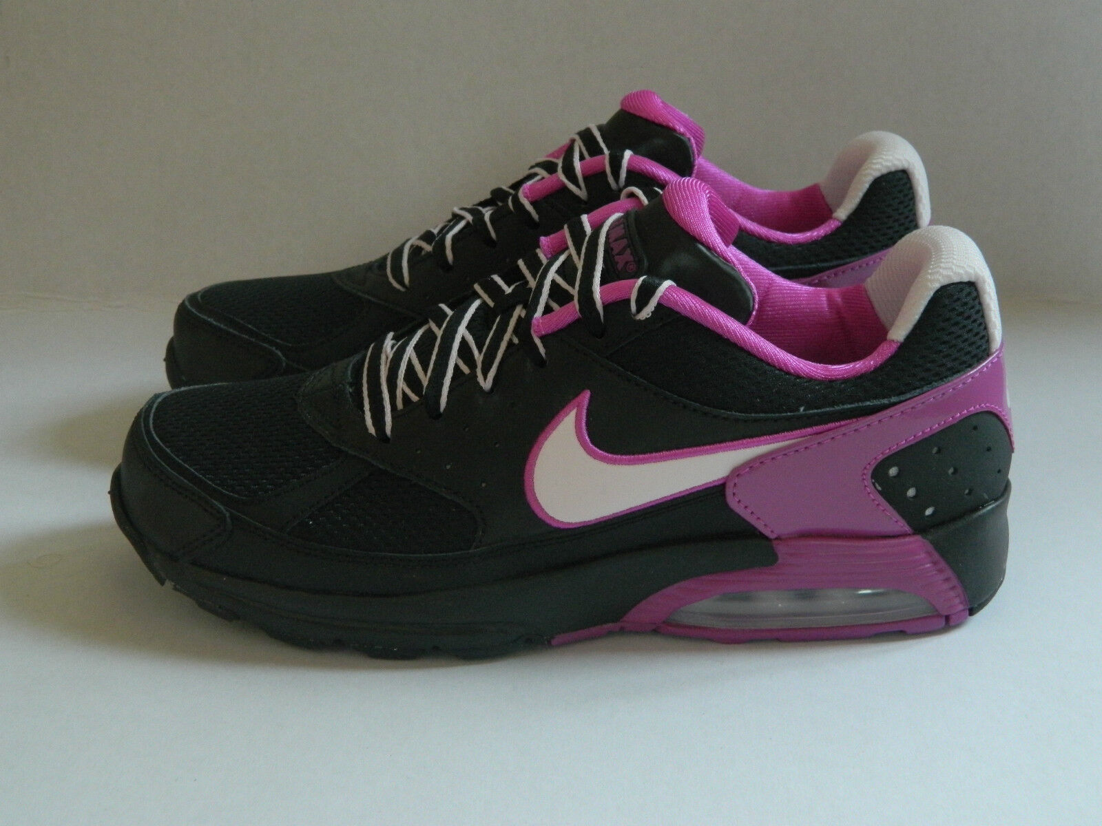 Nike femmes  Chaussures Air Max Faze Noir /Violet/Magenta Trainers Chaussures  UK- 4_4.5 b74af2