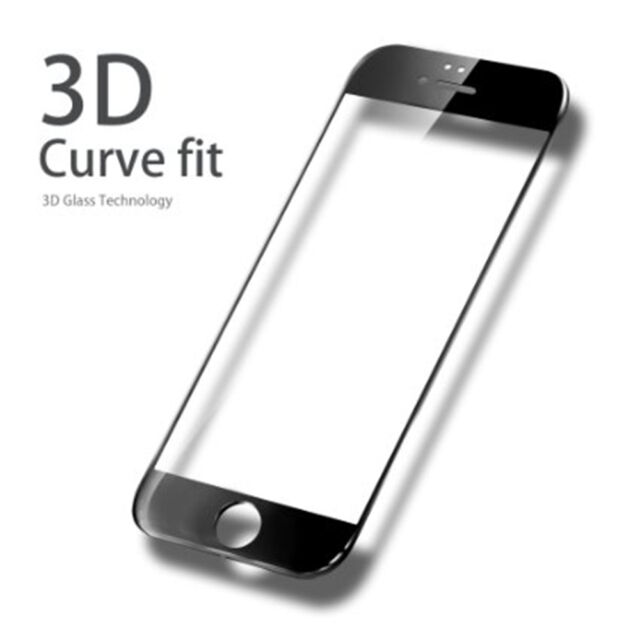 more photos 291c9 df867 Black Otao iPhone 6 6s Full Cover Tempered Glass Screen Protector 0 3ml 9h