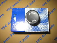 Chevy Gmc Buick Radio On Off Volume Push Button Knob Genuine Gm