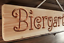 Indexbild 3 - Biergarten - Holz Dekoschild, massiv, gefräste Gravur, Geschenkidee, Bar, Garten