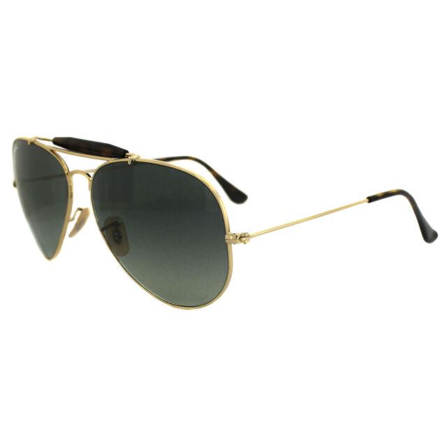 e6b3e38a78dfe Ray-Ban Sunglasses Outdoorsman Havana 3029 181 71 Gold   Havana Grey  Gradient