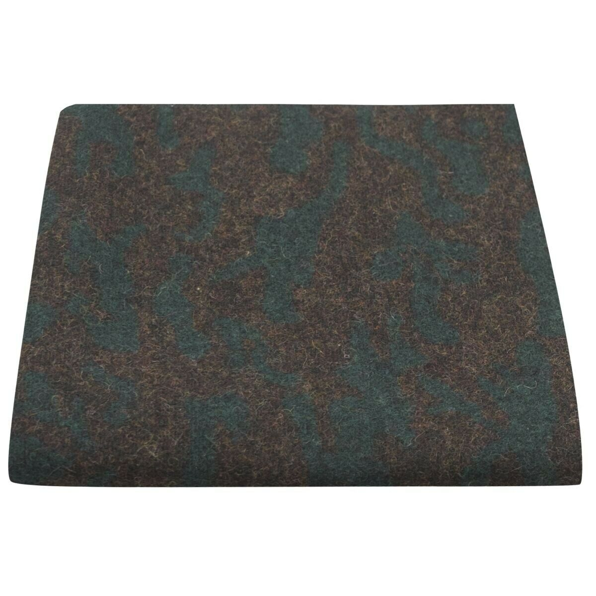 Luxury Persian Dark Blue Green Pattern Pocket Square, Handkerchief