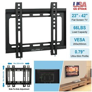 LED-LCD-Flat-TV-Monitor-Wall-Mount-Tilt-Bracket-for-23-24-27-32-37-39-40-42-034