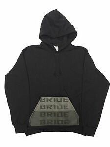 BRIDE-GRADATION-Hoodie-Black-S-3XL-JDM-Vtec-Honda-Acura-Civic-Decal-Integra-Dohc
