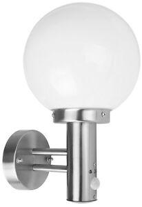 Lampe jardin applique eclairage exterieur avec detecteur boule I ...