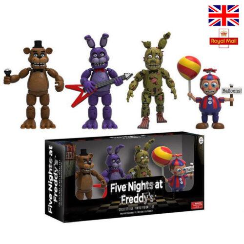 Five Night At Freddy/'s FNAF Action Figures Toys Foxy Freddy FNAF PVC Figure 5cm