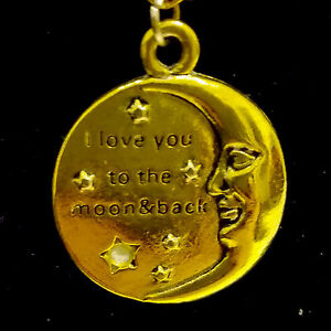 f6aa691027 Gifts Love Heart Words Silver/gold Round Pendant Necklace Family ...