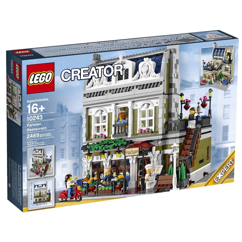 Lego Creator 10243 Parigi Ristorante Nuovo Conf.originale Misb