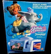 Disneyland Park Musical Dumbo Flying Elephant Toy Heart Family French Italy 1990