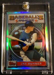 1993-JAY-BUHNER-TOPPS-FINEST-REFRACTOR-124-SEATTLE-MARINERS-716