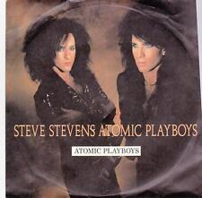 Steve Stevens - Atomic Playboys/Run Across Desert Sands (Vinyl-Single 1989) !!!