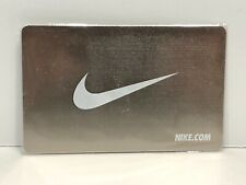 Nike Metal Reloadable Gift Card Platinum Color No Value