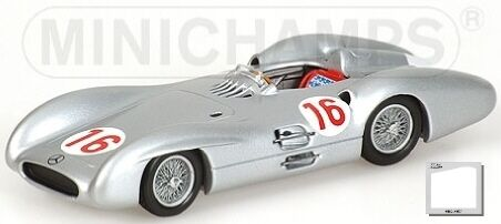 Mercedes Benz W196 J.M Fangio Winner GP Italy 1954 1:43 Model MINICHAMPS