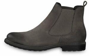 Details zu Tamaris Chelsea Boot Belin Grau Schuhe Stiefel Leder 25056 232