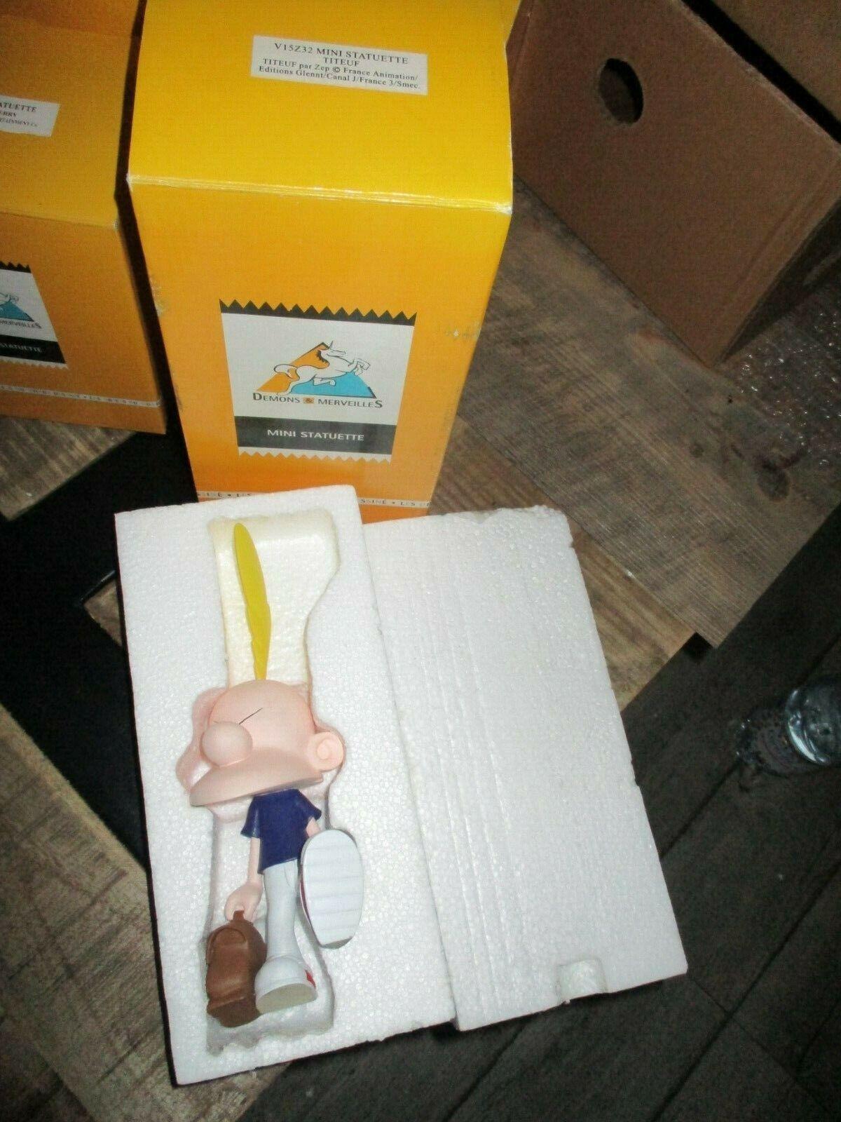 Démons&merveilles-Statuette Titeuf en colère avec cartable-2002- boite d origine