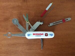 Bernina Sewessential Tool Wenger Swiss Army Knife Sewing