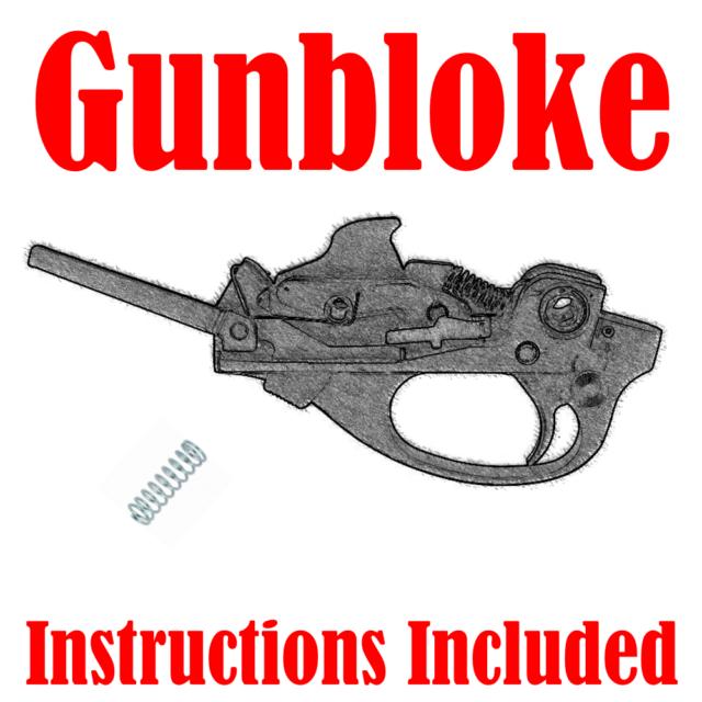 Remington 7600/7615/7400/750/6/76 rifle Trigger Spring upgrade kit - 1.5lb